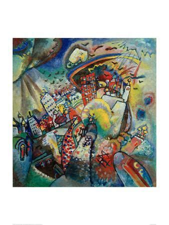 Moscow I. 1916 Giclee Print by Wassily Kandinsky at Art.com
