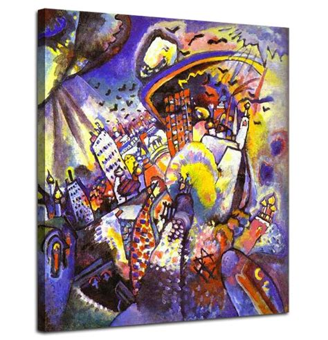 Moscow I   Kandinsky Paintings | Famous Art @ Canvas Paintings