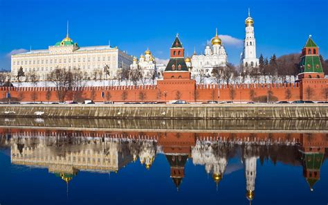 Moscow Kremlin is the top attraction of Russia