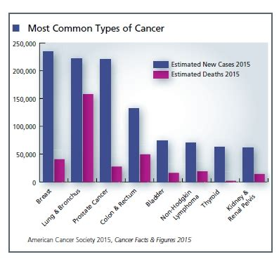 Most Common Types of Cancer