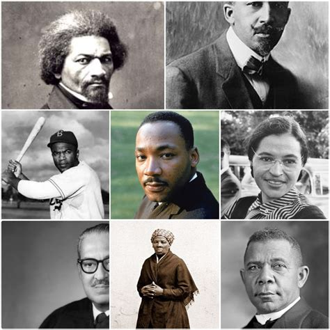 Most Famous People in Black American History | GREAT ...