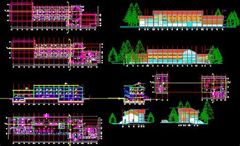 Motel project   مشاريع هندسية DWG