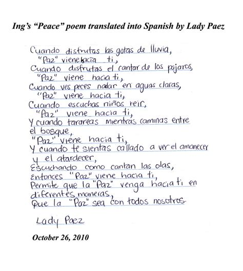 Mother Day Poems In Spanish   www.imgkid.com   The Image ...
