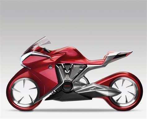 *: Moto conceito Honda V4