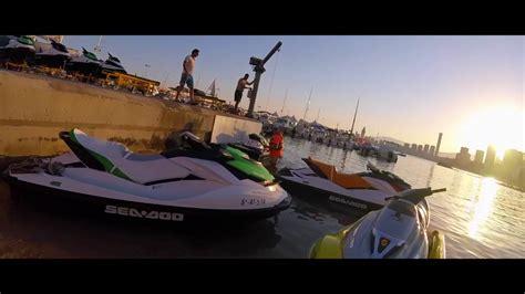 moto de agua Bombardier , Benidorm   YouTube