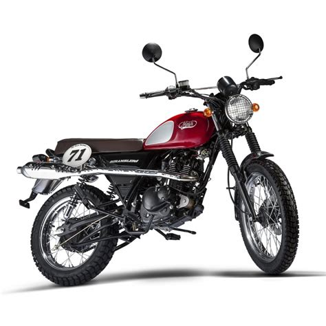 Moto Mash Scrambler Rouge 125cc - Mash Motors