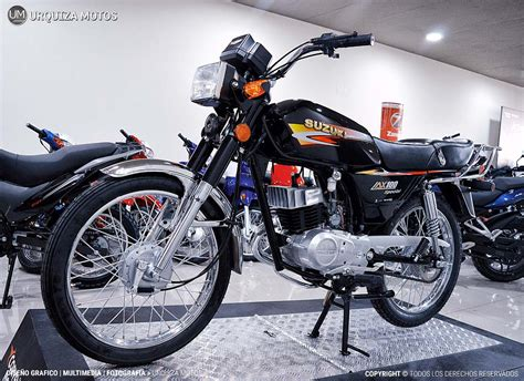 Moto Suzuki Ax 100 Ax100 Cafe Racer 2t 0km Urquiza Motos ...