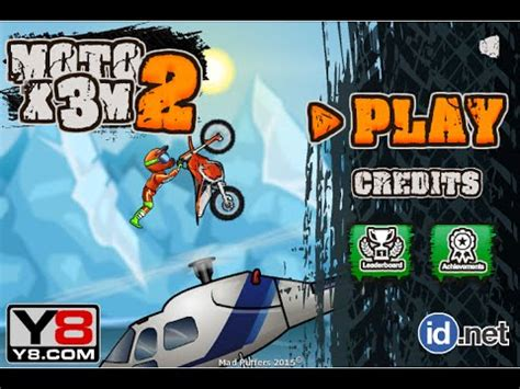 moto x3m 2 | y8 moto gameplay   YouTube