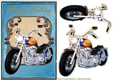 Motor Bike Fanatic!   CUP439269_846 | Craftsuprint