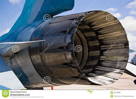 Motor F16 traseiro imagem de stock. Imagem de plano ...