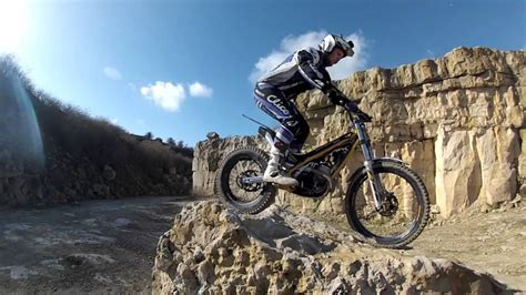 Motorcycle Trials Riding with Grant Laming and Mat White ...