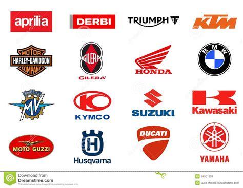 Motorcycles Producers Logos Editorial Photo   Illustration ...