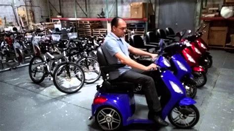 Motos eléctricas de tres ruedas. - YouTube