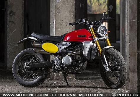 Motos - Les Fantic Caballero Scrambler et Flat Track sont ...