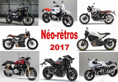 Motos néo-rétro 2017 : Scrambler, Café Racer, Racer et Vintage