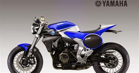 Motosketches: YAMAHA MT-07 Cafè Racer Concept
