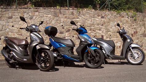 Motosx1000 : Comparativa Scooter 125 Rueda Alta - YouTube