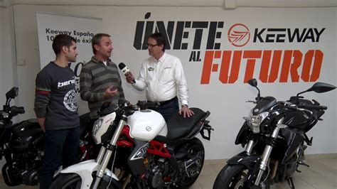 Motosx1000 : Keeway Center Barcelona - YouTube