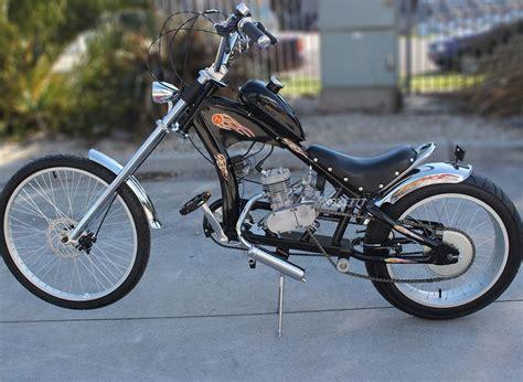 Motoworks 80cc Motorised Motorized Bicycle Push Bike ...