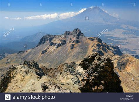 Mountain landscape from the Iztaccihuatl, Iztaccíhuatl ...