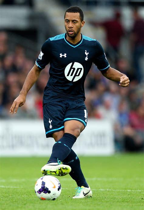 Moussa Dembele in Cardiff City v Tottenham Hotspur ...