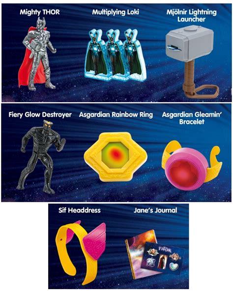 Movies/TV/Games: New Superhero Fast Food Premium Toys