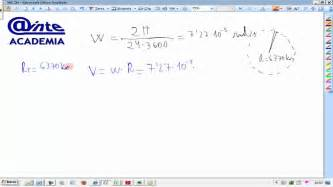 Movimiento circular uniforme Velocidad angular lineal de ...