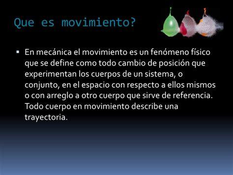 Movimiento(Dinamica)