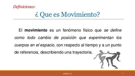 Movimiento en el entorno
