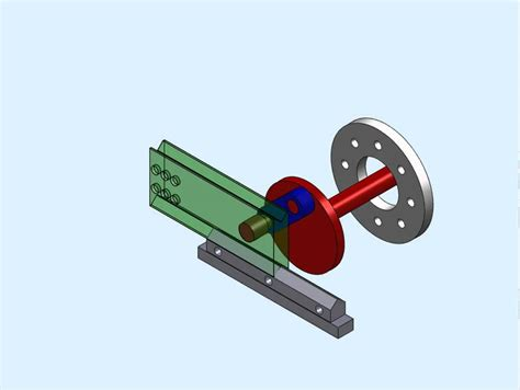 movimiento excentrica solidwork   YouTube
