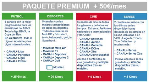 Movistar+: Cine, series, deportes y fútbol por 9,90€/mes ...