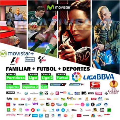 Movistar+ Futbol + Deportes 18 Months Viewing Card Spain
