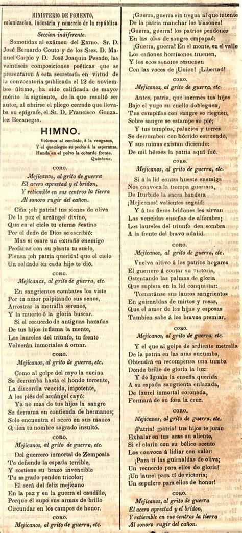 Mprendidos MX: Versión original del Himno Nacional Mexicano.
