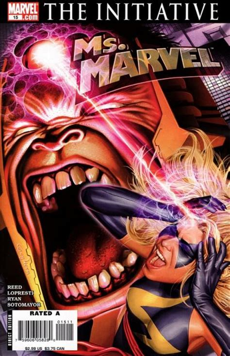 Ms. Marvel, Vol. 2 #15 - The Initiative - Ready, A.I.M ...