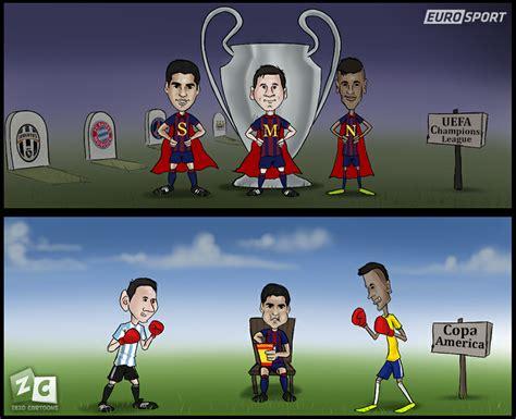 Msn: from barça buddies to copa enemies | by @zezo ...
