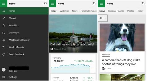 MSN Weather, News, Sports & Money apps updated for Windows ...