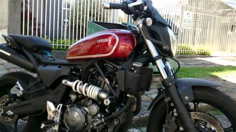 Mt 03 cafe racer parte 2 - YouTube