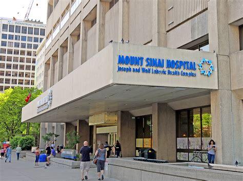 Mt. Sinai Hospital Calms Wind Tunnel Effect with Boon Edam ...