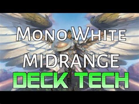 Mtg Deck Tech: Mono White Midrange in Dominaria Standard ...