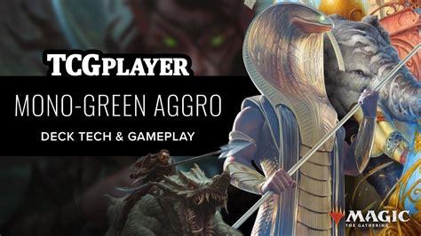 [MTG] DOM Mono Green Aggro | Seth Manfield   YouTube