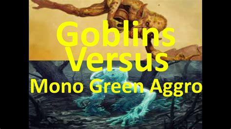 MTG: Goblins Versus Mono Green Aggro  Modern    YouTube