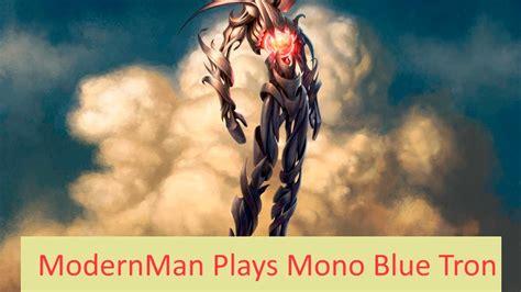 MTG: Mono Blue Tron Versus Mono Green Aggro  Modern    YouTube