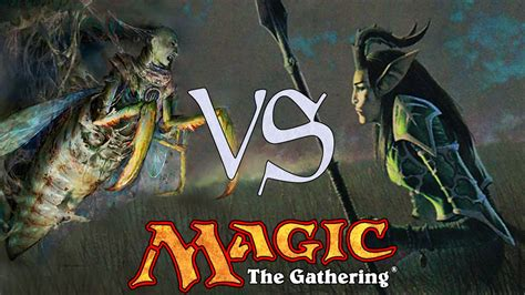 MtG Pauper Gameplay - Mono-Blue Delver VS Mono-Green ...