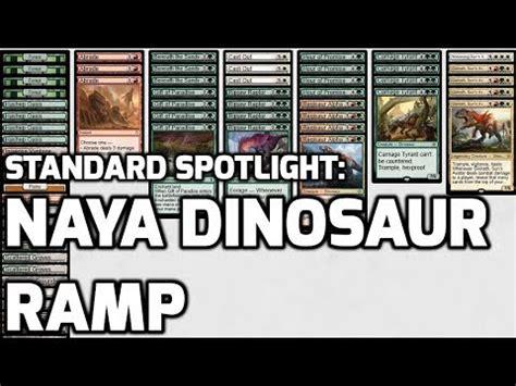 MTG – Naya Dinosaurs Tribal Standard Deck Tech for Magi ...