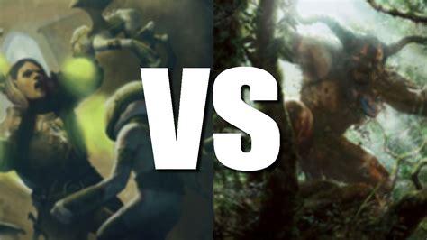 MTGO Gameplay - 8-Rack vs Mono Green Devotion (Modern ...