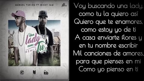MTZ Manuel Turizo Ft Nicky Jam Una Lady Como Tú Remix ...