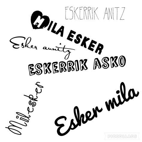 Muchas gracias en vasco, euskera