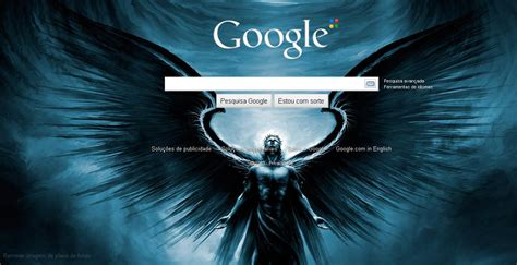 Mudar plano de fundo do Google | Eu te digo