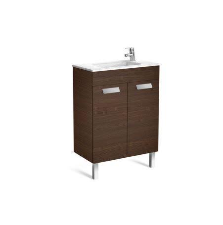 Mueble de baño compacto + Lavabo Roca Debba con puertas ...