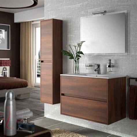 Mueble de baño NOJA 90 Blanco brillo salgar